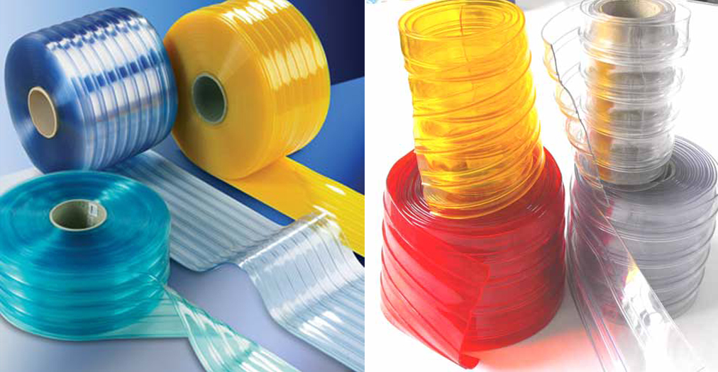 Manufacturer of Ribbed PVC Strip Curtain in chennai, Dealers of ...