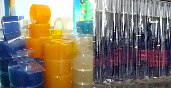 Manufacturer of Standard PVC Strip Curtain in chennai, Dealers of ...
